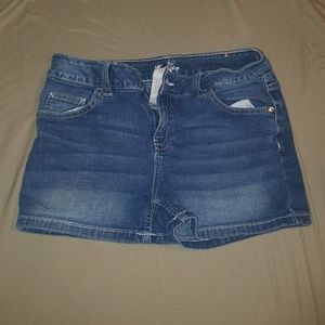 Justice jean shorts